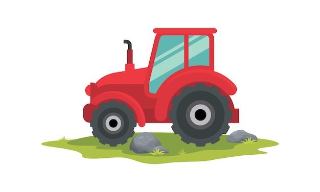 Traktorillustration