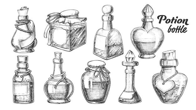 Trankflaschen