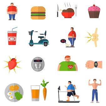Transformation von übergewicht zu einem gesunden lebensstil