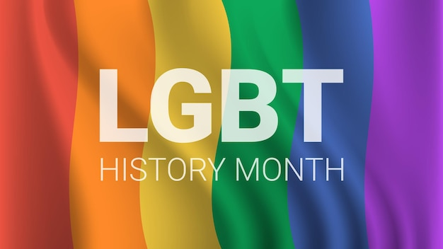 Transgender-liebe lgbt-geschichte monat feier diskriminierung menschenrechtsverletzung konzept horizontale vektorillustration