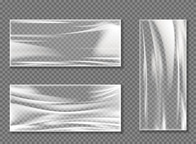 Transparenter cellophan-stretchfilm zum einwickeln