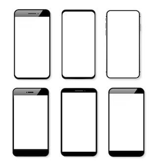 Transparenter hintergrund des smartphones