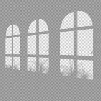 Transparenter schatten-overlay-effekt