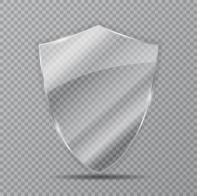 Transparenter schutzglasschutz.