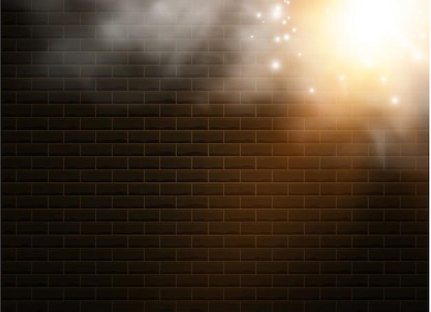 Transparenter spezialeffekt fällt durch nebel oder rauch auf. weiße wolke, nebel oder smog. die lichter einer sonne. weißer farbverlauf auf transparentem hintergrund. sonniges wetter auf einem transparenten hintergrund.