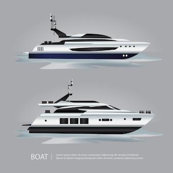 Transport-boots-touristische yacht zum zu reisen