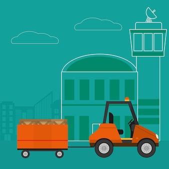 Transport und logistik luftservice