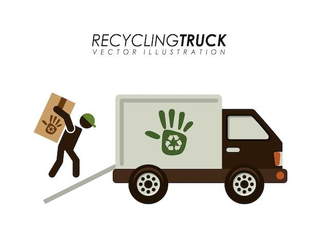 Transportdesign recyceln