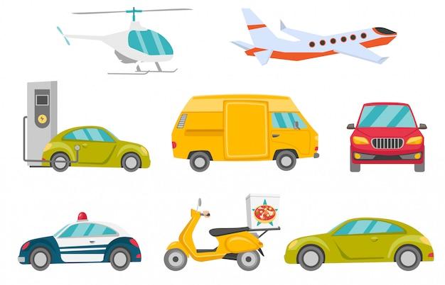 Transportfahrzeugset