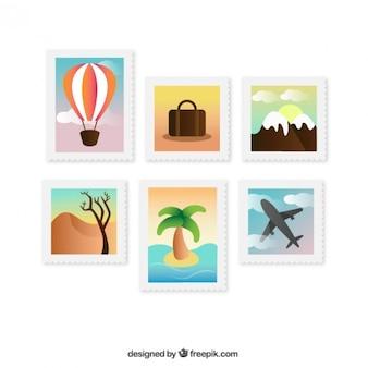 Travel briefmarken