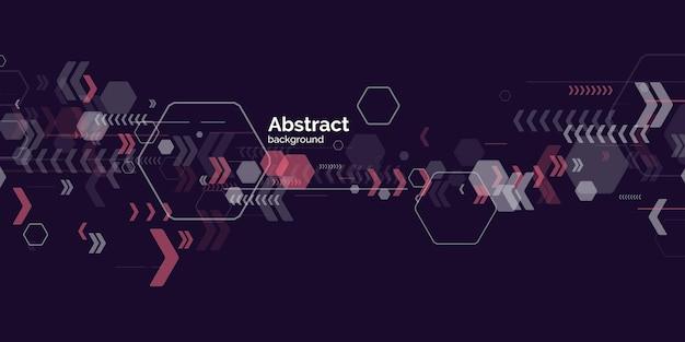 Trendiger abstrakter hintergrund. zusammensetzung amorpher formen und linien. vektor-illustration