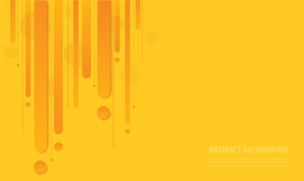 Trendiger hintergrund des modernen gelben quadratischen gradienten