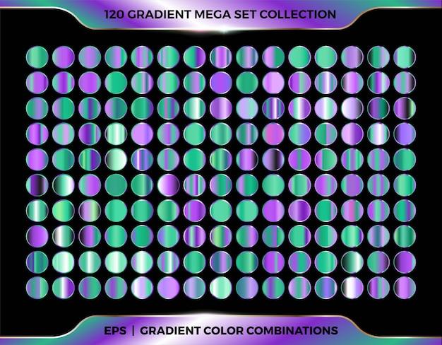 Trendy bunte farbverlauf glänzende farben