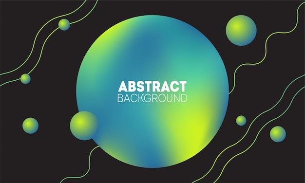 Trendy frühlingsgrün färbt abstrakten hintergrund. zusammensetzung geometrischer linien und formen.