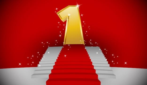 Treppe zur nummer 1