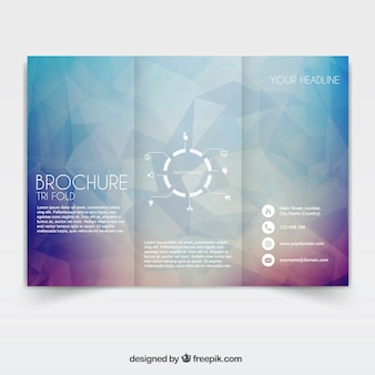 Tri-fach broschüre