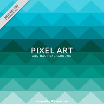 Triangles hintergrund in pixelkunstart