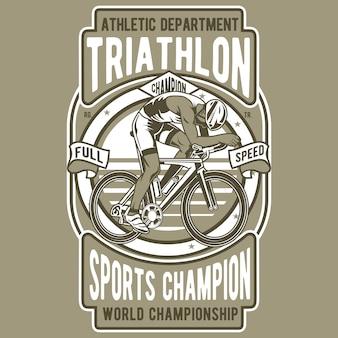Triathlon-fahrrad