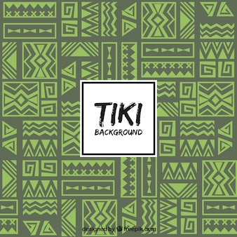 Tribal hintergrund mit ethnischen design