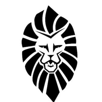 Tribal Löwenkopf Vektor-Illustration