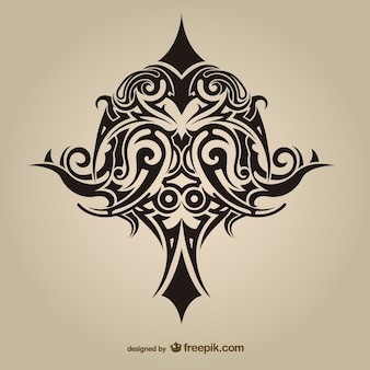Tribal tattoo asbtract vektor-design