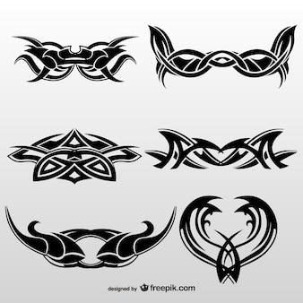 Tribal tattoos kunstsammlung