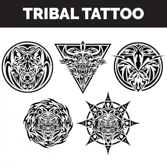 Tribal tattoos sammlung