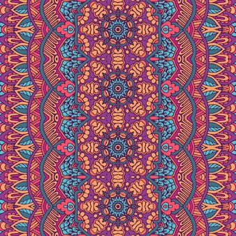 Tribal vintage abstrakte geometrische ethnische nahtlose muster ornamental. indische bars textildesign