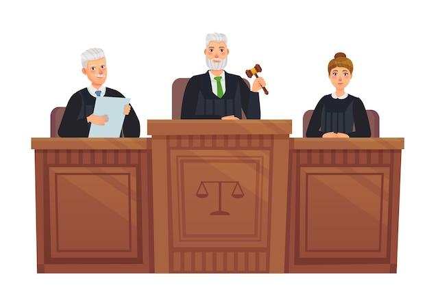 Tribüne des obersten gerichtshofs