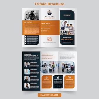 Trifold-broschüre