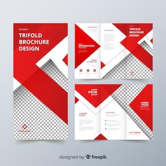 Trifold-flyer-vorlage