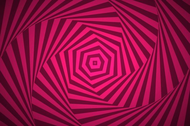 Trippy optischer täuschungshintergrund