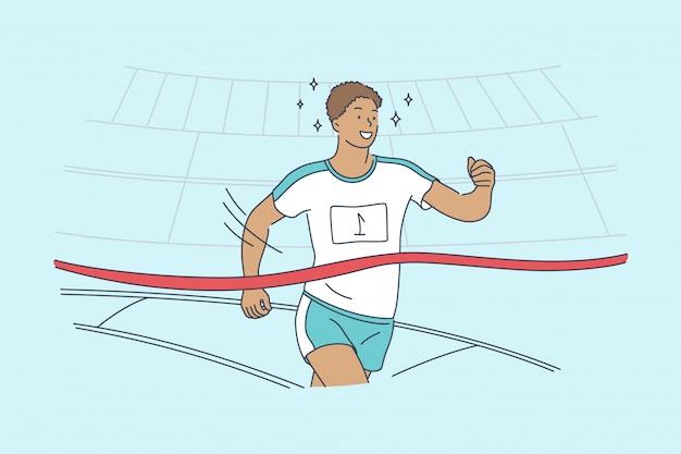 Triumph race sport sieg erfolg meisterschaft konzept