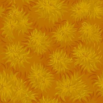 Trockenes gras mit nahtloser textur