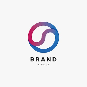 Tropfen logo design-vorlage