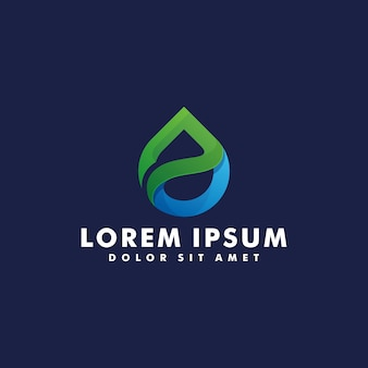 Tropfen wasser logo