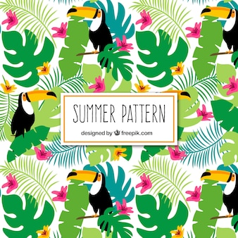 Tropical-sommer-muster