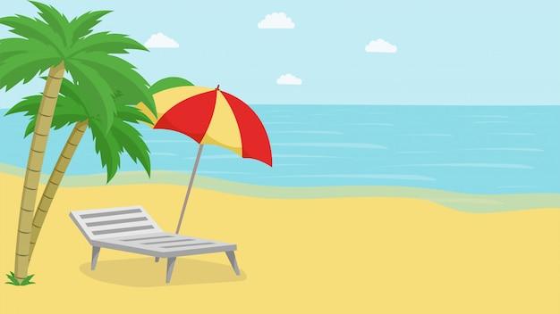 Tropische insel entspannen sich