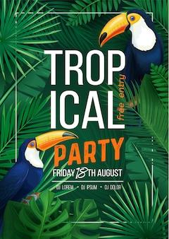 Tropische party