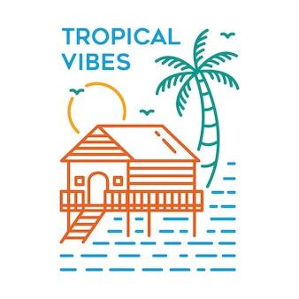 Tropische stimmung