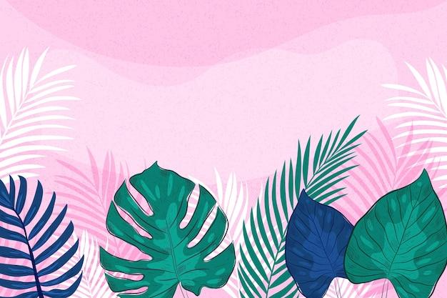 Tropische wandtapete