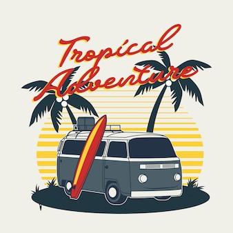 Tropisches abenteuer