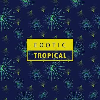 Tropisches blattvenenmuster