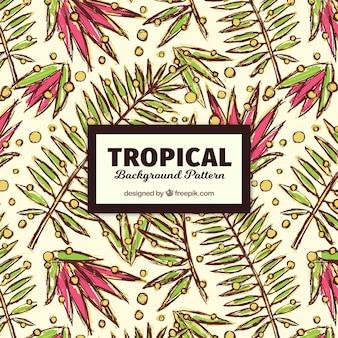 Tropisches muster