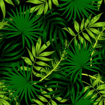 Tropisches nahtloses muster