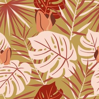 Tropisches sommer-muster