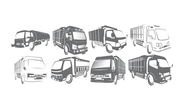 Truck logo set sammlungen