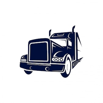 Truck semi-logo