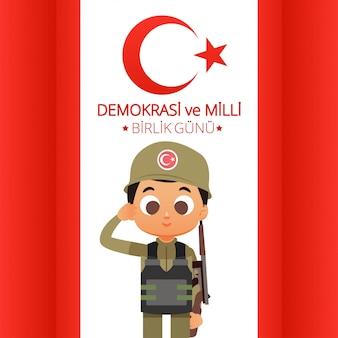 Truthahn-nationaltag-illustration