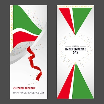 Tschetschenische republik glücklicher unabhängigkeitstag